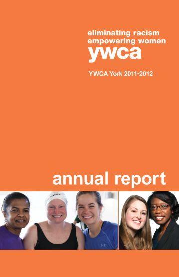 2011 - 2012 Annual Report - YWCA York