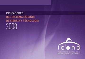 Indicadores 2008 - Ministerio de Economía y Competitividad