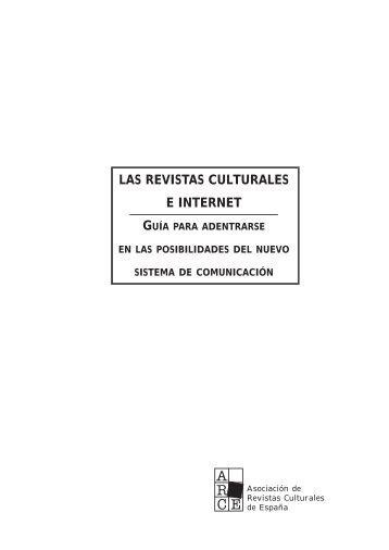 Las revistas culturales e internet. Guía para adentrarse ... - Ediciona