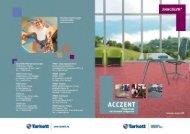 Брошюра о коммерческом гетерогенном линолеуме Tarkett