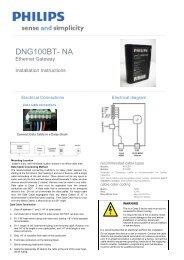 DNG100BT-NA Rev B.pdf - Philips Lighting Controls