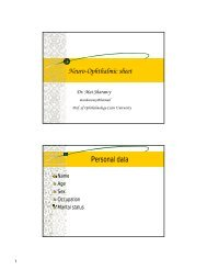 Neuro-Ophthalmic sheet Personal data - RM Solutions