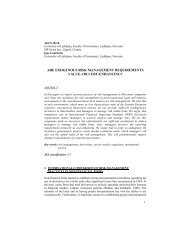 are exogenous risk management requirements value- or cost ...