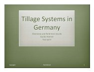 Tillage Systems in Germany