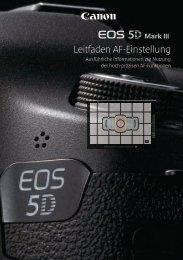 EOS 5D Mark III Leitfaden AF-Einstellung