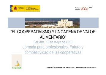 """""""EL COOPERATIVISMO Y LA CADENA DE VALOR ALIMENTARIO ..."""