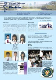 Secondary Newsletters Term 1 Issue 3