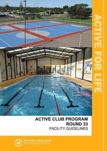 active club program round 33 - Office for Recreation and Sport - SA ...