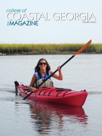 the Magazine, Volume 2 Issue 2 - The College of Coastal Georgia