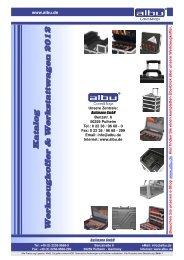 Katalog Werkzeugkoffer & Werkstattwagen 2012 - Albu