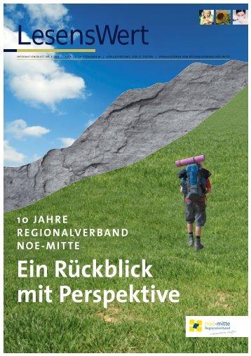 Ausgabe 3/2011 herunterladen - Regionalverband noe-mitte