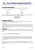 Részletes műszaki adatok - Kerex-Óbuda Kft. - Page 2
