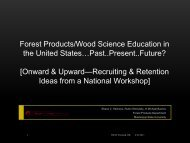 Recruiting and RetentionIdeas from a National Workshop