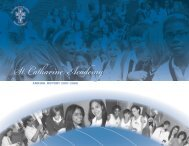 ANNUAL REPORT 2007-2008 - St. Catharine Academy