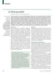 Chronic pancreatitis Lancet