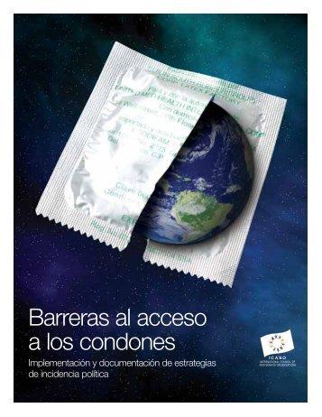 Barreras al acceso a los condones - icaso