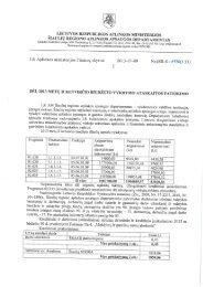 Biudžeto išlaidų sąmatos vykdymo 2013 m. birželio 30 d. ataskaita