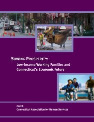 Sowing Prosperity: Low-Income Working Families and Connecticut's ...