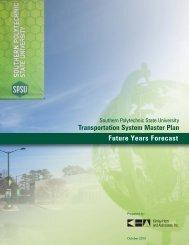 Future Years Forecast - Southern Polytechnic State University