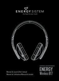 MANUAL COMPLETO_BT7.indd - Energy Sistem