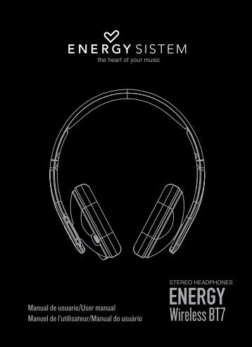 MANUAL COMPLETO_BT7.indd - Energy Sistem