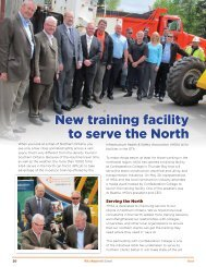 New training facility to serve the North - Infrastructure Health ...