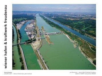 Wiener Hafen & Kraftwerk Freudenau.pdf - Wohnbau - TU Wien
