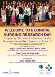 welcome to neonatal nursing research day - University of ...