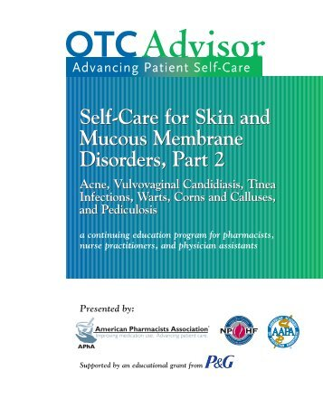 Self-Care for Skin and Mucous Membrane Disorders, Part 2 Self ...