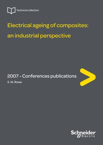 Electrical ageing of composites: an industrial ... - Schneider Electric