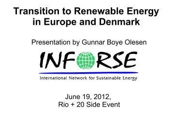 Denmark & Europe - HELIO International