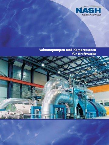 Vakuumpumpen und Kompressoren für Kraftwerke