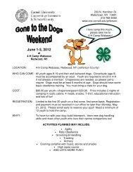 dog camp registration~2012