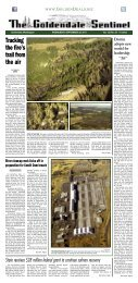 Tracking the fire's trail from the air - Goldendale Sentinel
