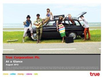 True Corporation Plc. - True Corporation Public Company Limited