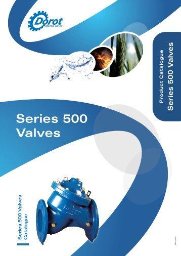 Series 500 Catalogue - Dorot Control Valves