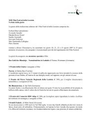 Verbale della Giuria 2007.pdf - Film Festival della Lessinia