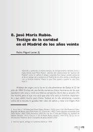 8. José María Rubio. Testigo de la caridad en el ... - Cáritas Española