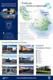 Folleto - Victoria International High School