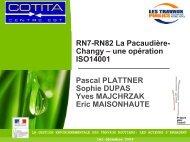 RN7-RN82 La Pacaudière- Changy - CoTITA