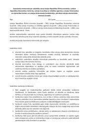 Saprašanās memorands - Latvijas Republikas Ārlietu Ministrija