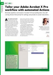 Tailor your Adobe Acrobat X Pro workflow with automated ... - Ipex