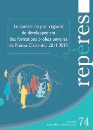 Le contrat de plan régional de développement des ... - Centre Inffo