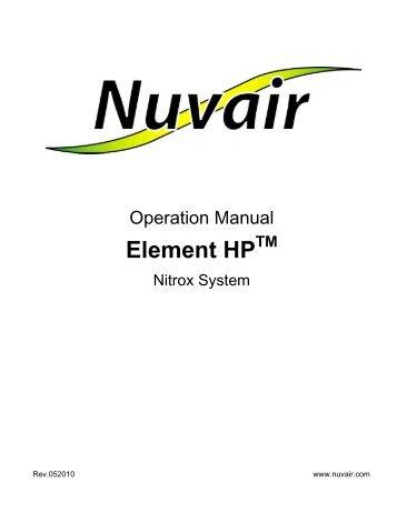 Element HP Nitrox - Nuvair