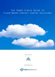 The Inner Circle Guide to Cloud-Based Contact Centre ... - Call Centre