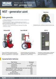 Butler nitrotower - generator azot
