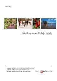 Grönstrukturplan för Falu tätort - Falu Kommun