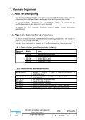 Draden en kabels Technische Specificatie - Infrabel - Page 5