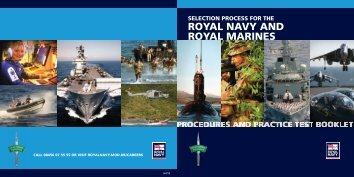 Try some RT examples - Royal Navy