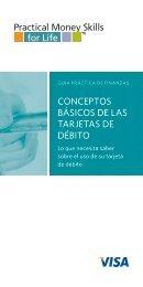 conceptos básicos de las tarjetas de débito - What's My Score